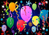Party balloons — Stock Photo