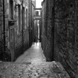 Stock Photo: Edinburgh - black and white