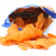 Potato crisps - Stock Photo