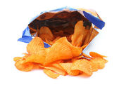 Potato crisps — Stock Photo