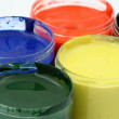 Paint pots — Stock Photo #2747314