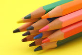 Bunch of colorful pencils — Stockfoto