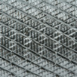 Stock Photo: Grooved metal surface