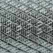 Grooved metal surface — Stock Photo