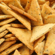 Close-up of crackers pile — Stock Photo