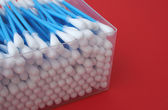 Cotton cleaning sticks — Stock Photo