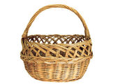 Isolated Basket — Stock Photo