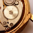 Stock Photo: Vintage watch mechanism