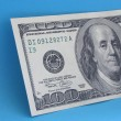 One hundred dollar note — Stock Photo