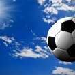 Soccer ball - Stock Photo