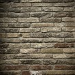 Wall of bricks — Stock fotografie