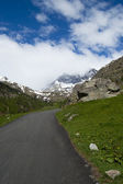Road to mountain — Stockfoto