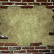 Royalty-Free Stock Photo: Frame with brick