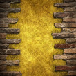 Royalty-Free Stock Photo: Brick wall frame