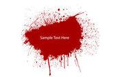 Blood splat — Stock Photo