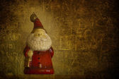 Grunge Santa Clouse — Stock Photo