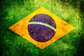 Flag of Brasil — Stock Photo