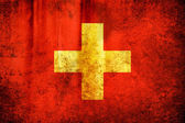 Flaga Szwajcarii — Zdjęcie stockowe