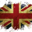 Great Britain flag paint — Stock Photo