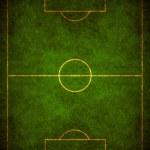 nieczysty piłka nożna — Zdjęcie stockowe