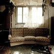 Room after a fire - Photo