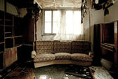 Room after a fire — Photo