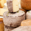 Cheese at a market — Stock Photo