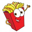Royalty-Free Stock Vector: Cartoon french fries
