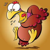 Rädda kyckling — Stockvektor