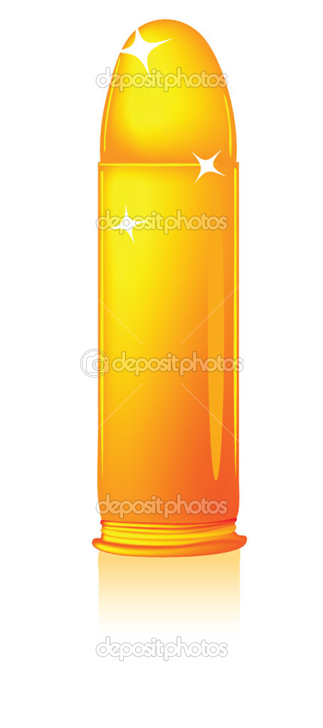 Golden bullet — Stock Vector #2799812