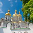 White orthodox cathedral in Ukraine — Stock Photo