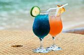 Due bicchieri di cocktail — Foto Stock