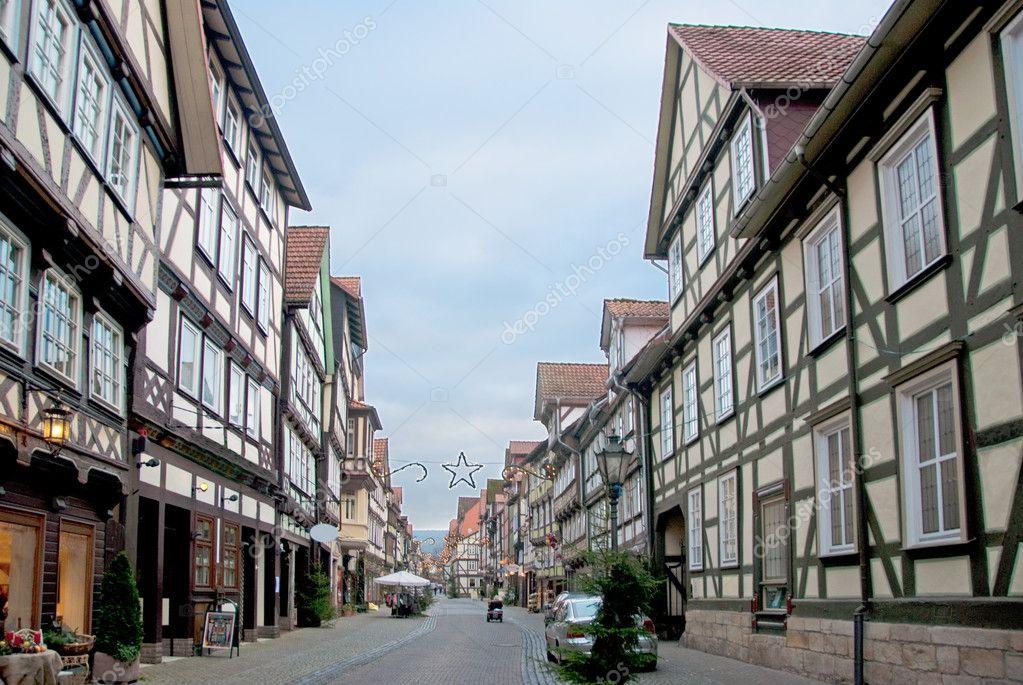欧洲城市街道