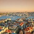 Istanbul Panoramic Sunset — Stock Photo