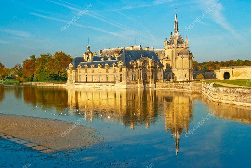 Chateau de chantilly stock photo vitalytitov 3061587 for Chantilly photo