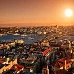 Sunset Istanbul — Stock Photo