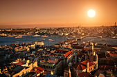Sunset Istanbul — Stock Photo