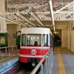 Istanbul Füniküler (funicular) — Stock Photo