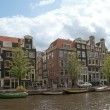 A channel in Amsterdam — Stock Photo #3207011