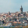 Istanbul and the Galata Tower — Stock Photo