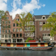 A channel in Amsterdam — Stock Photo #3207066