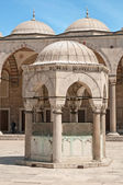 Blue Mosque Yard — Foto Stock