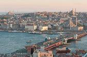 Istanbul old City Panorama — Stock Photo