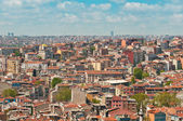 Istanbul rooftops — Stock Photo