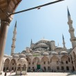 Sultan Ahmet Mosque on summer&#039;s day - Stock Photo