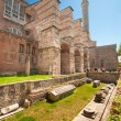 Hagia Sofia back yard - Stock Photo