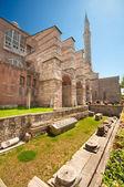 Hagia Sofia back yard — Stock Photo