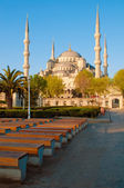 Sultan Ahmet Mosque — Stock Photo