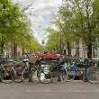 Bikes in Ansterdam — Stock Photo