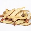 Licorice (medicinal name: radix glycyrrhiza), is a herbal tonic. medicinal part is the root and rhizome. — Stock Photo #3016663